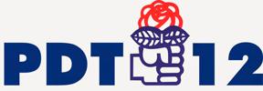 Imagem logomarca Partido Democrático Trabalhista de Ijuí