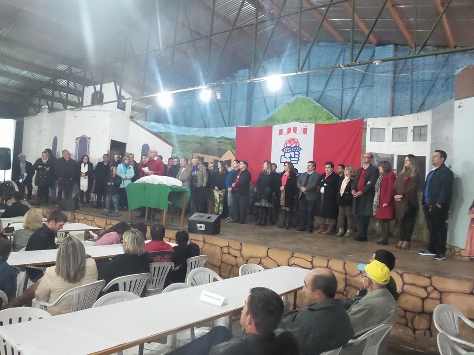 Imagem notícia Trabalhistas de Ijuí lotam CTG Farroupilha na festa dos 36 anos do partido
